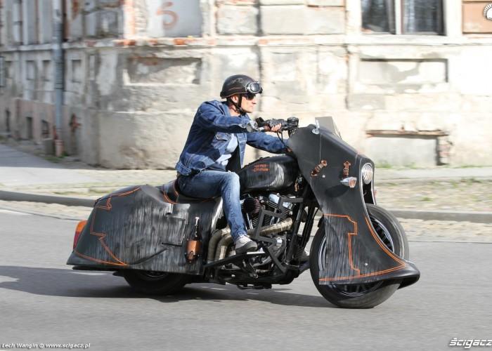 01 Harley Davidson Sportster 1200 Led Sled custom akcja
