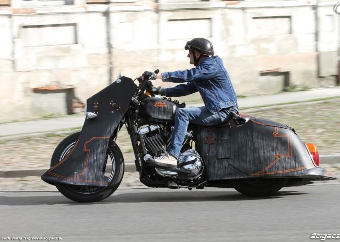 07 Harley Davidson Led Sled jazda