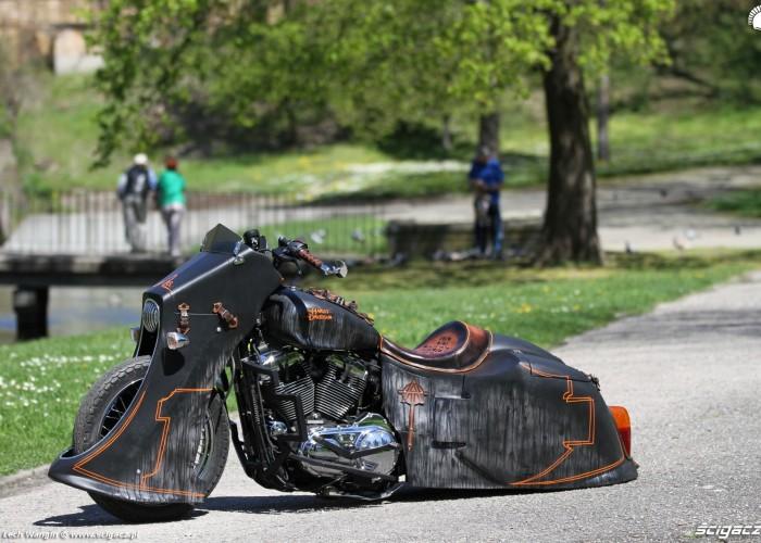 29 Harley Davidson Sportster 1200 Led Sled custom krazownik