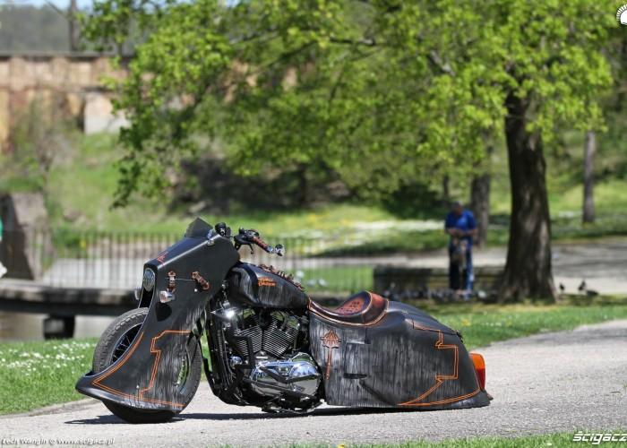 30 Harley Davidson Sportster 1200 Led Sled custom