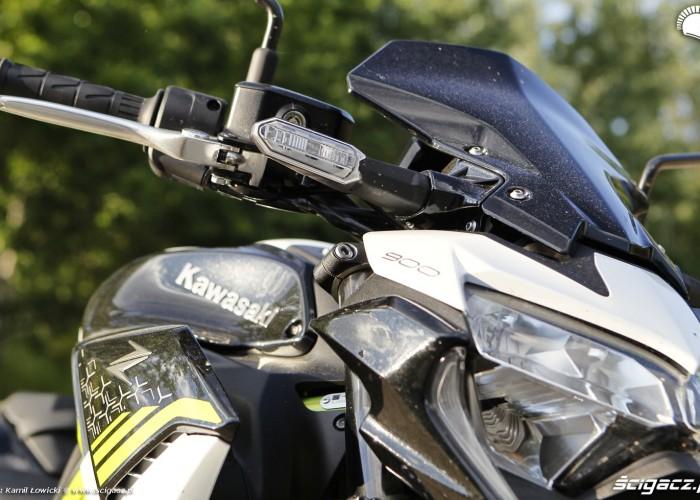 07 Kawasaki Z900 2021 kierunkowskaz