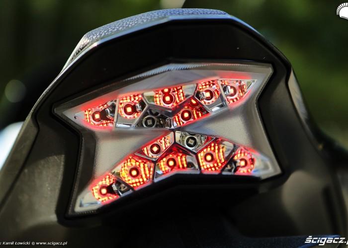 14 Kawasaki Z900 2021 tylna lampa