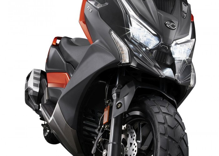 14 KYMCO DTX360 front