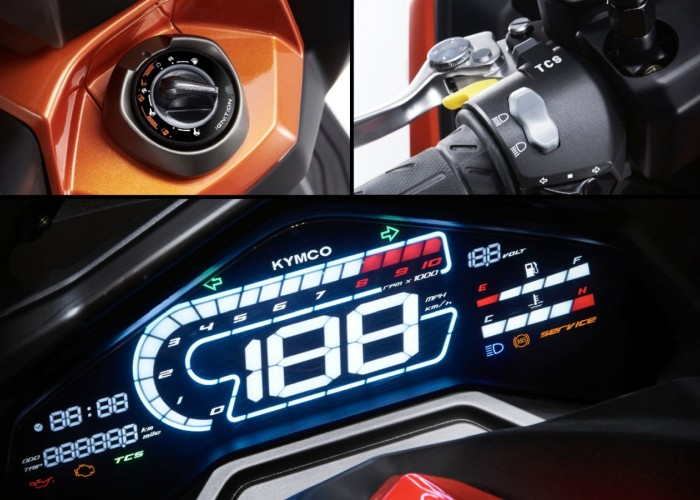 17 KYMCO DTX360 elektronika