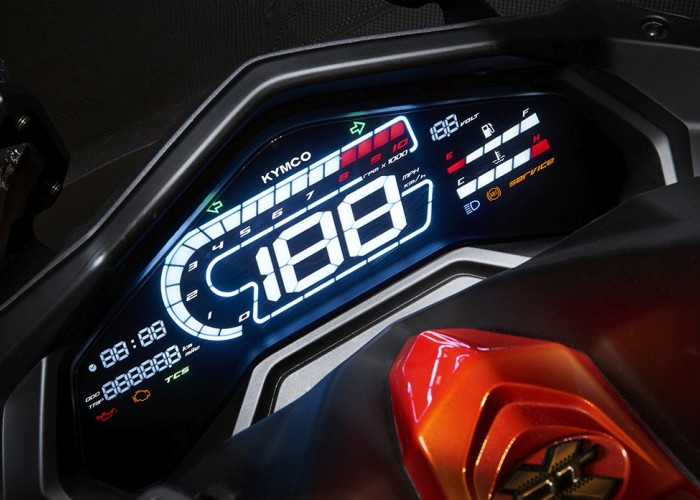 42 KYMCO DTX360 zegary