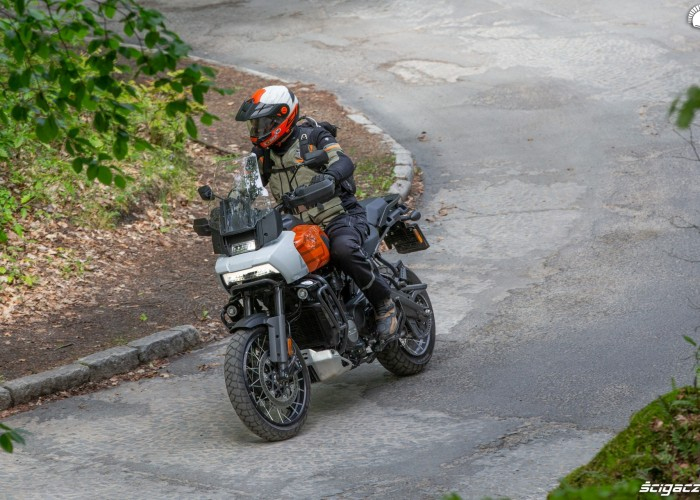 02 Harley Davidson 1250 Pan America 2021 test motocykla
