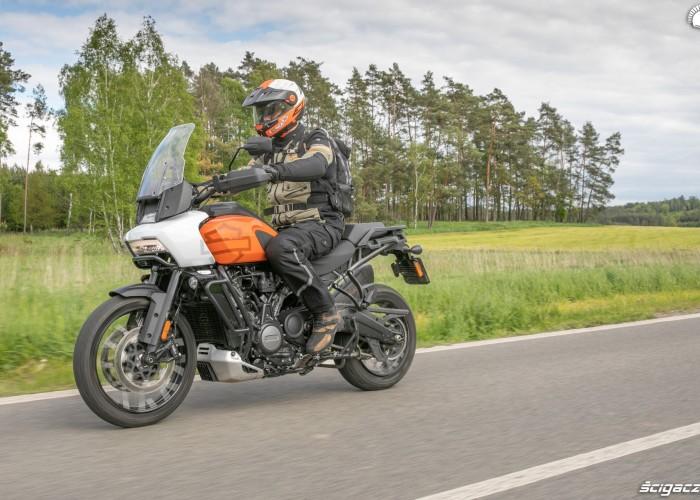 15 Harley Davidson 1250 Pan America test motocykla 2021