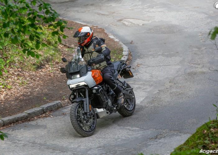 23 Harley Davidson 1250 Pan America 2021 test na ulicy