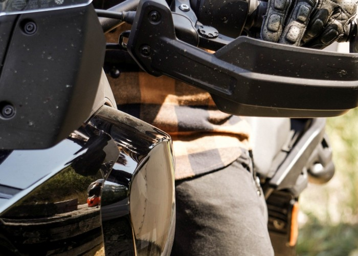 07 Harley Davidson Pan America 1250 Special hand guard