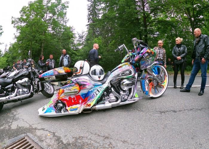 custom na polish bike week 2021