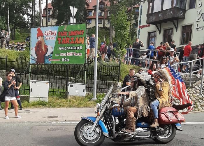 indianie na paradzie polish bike week 2021