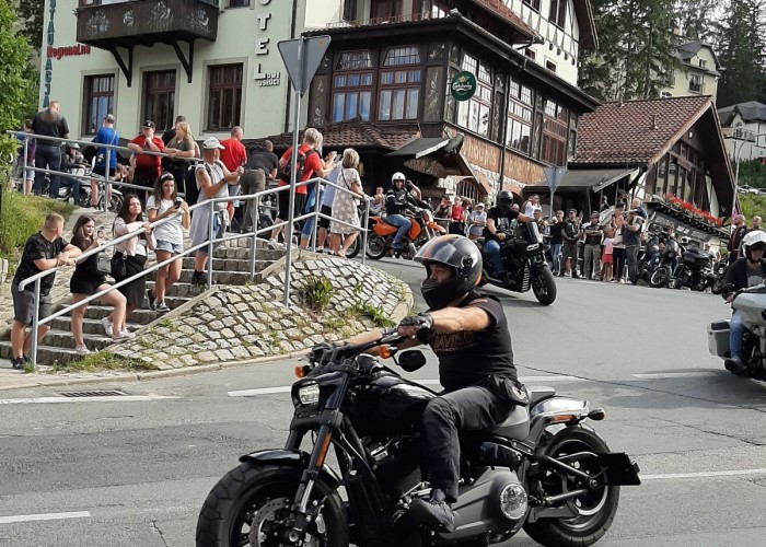 motocyklowa parada polish bike week