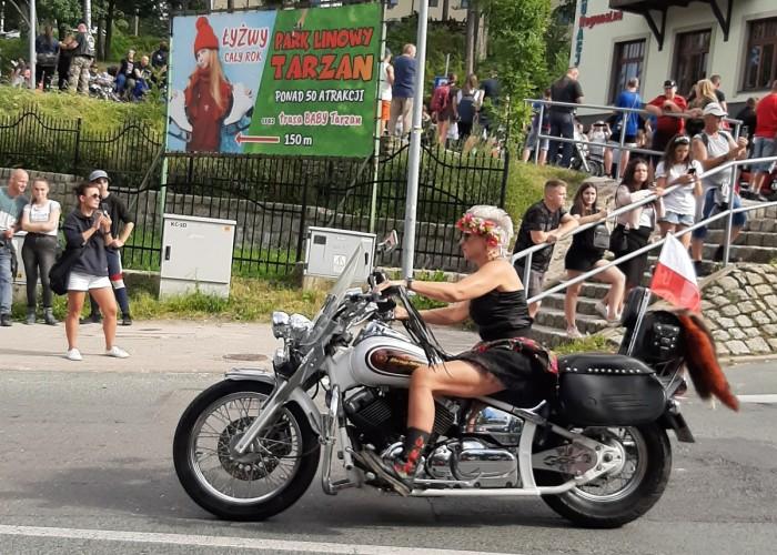 polish bike week 2021 parada uczestniczka