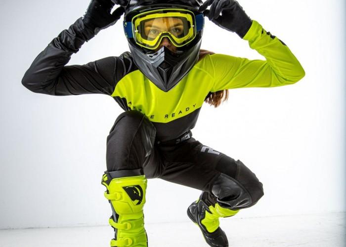 22 Raven Verve 24MX odziez motocyklowa limonka