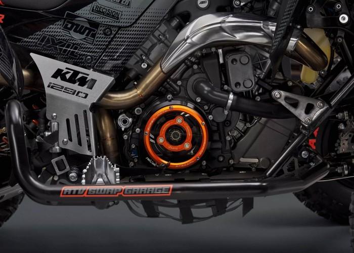 12 Quad z silnikiem KTM 1290 Super Adventure S silnik