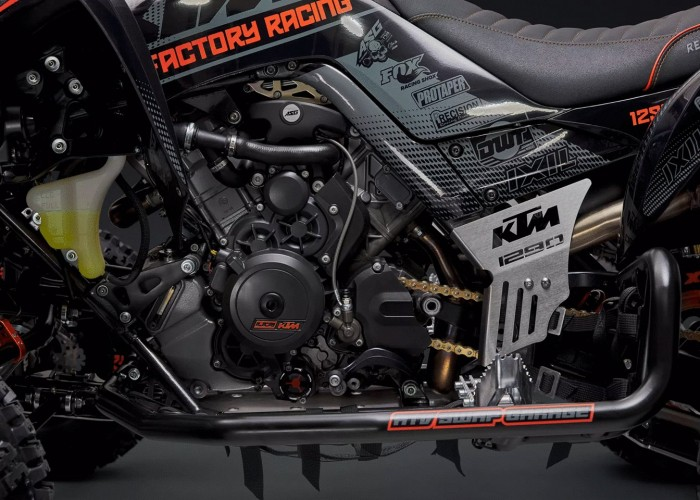 14 Quad z silnikiem KTM 1290 Super Adventure S motor