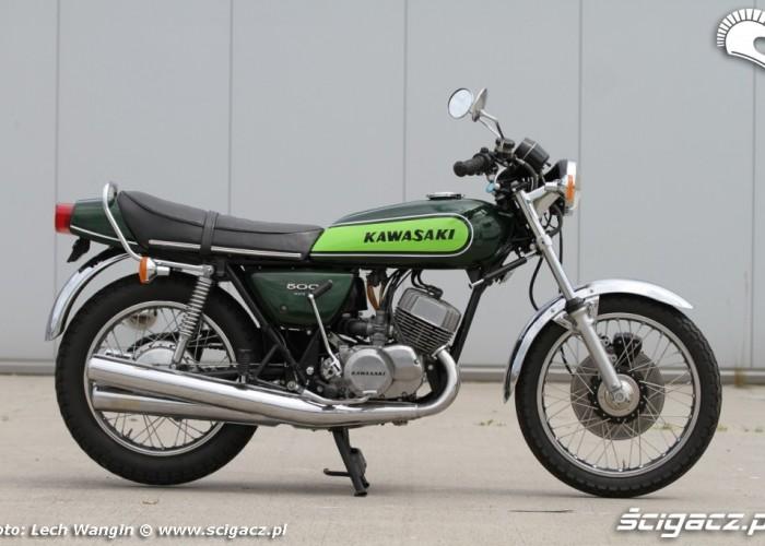 05 Kawasaki H1 Mach 3 zielony