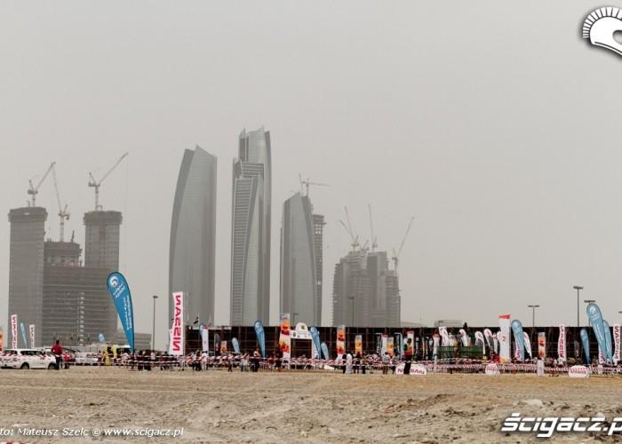 Abu Dhabi Desert Challenge 2012 plac budowy