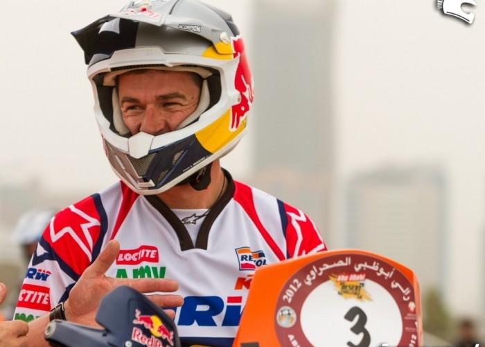 Abu Dhabi Desert Challenge 2012 przed jazda