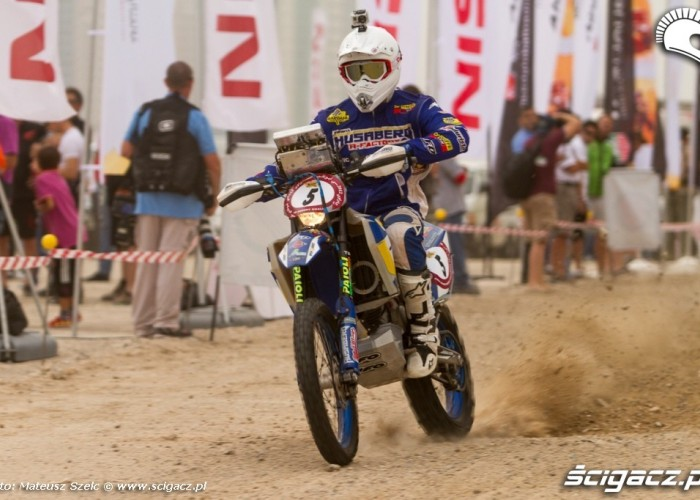 Husaberg Abu Dhabi Desert Challenge 2012