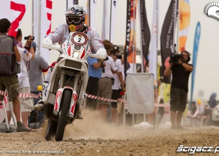 Kuba Przygonski Abu Dhabi Desert Challenge 2012