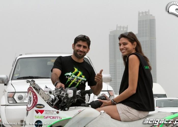 Ludzie i rajdy Abu Dhabi Desert Challenge 2012