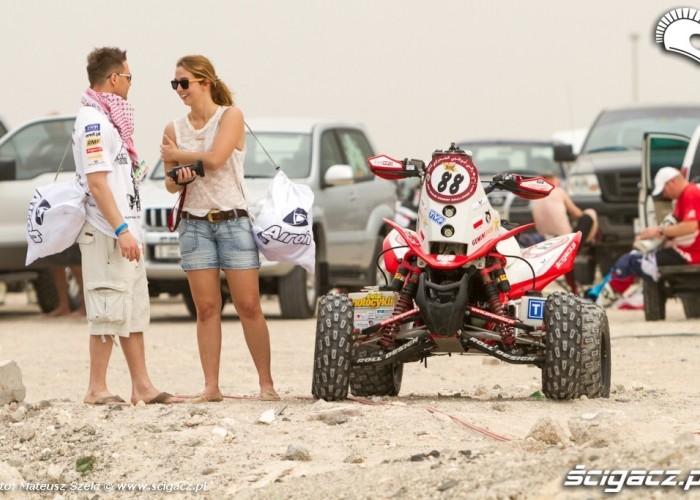 Polski quad Abu Dhabi Desert Challenge 2012
