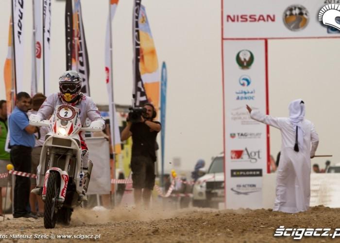 Przygonski na Abu Dhabi Desert Challenge 2012