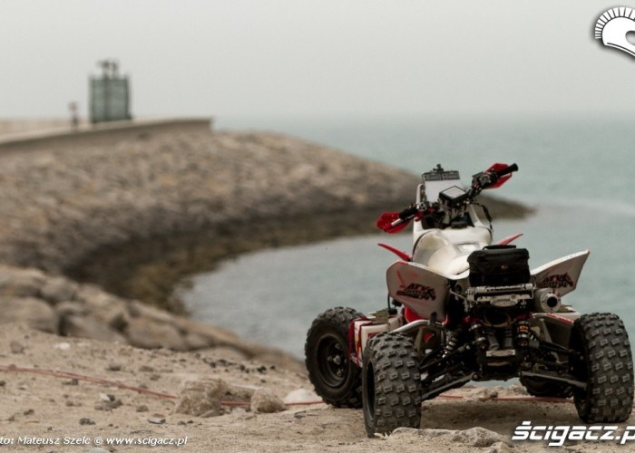 Quad Sonika Abu Dhabi Desert Challenge 2012