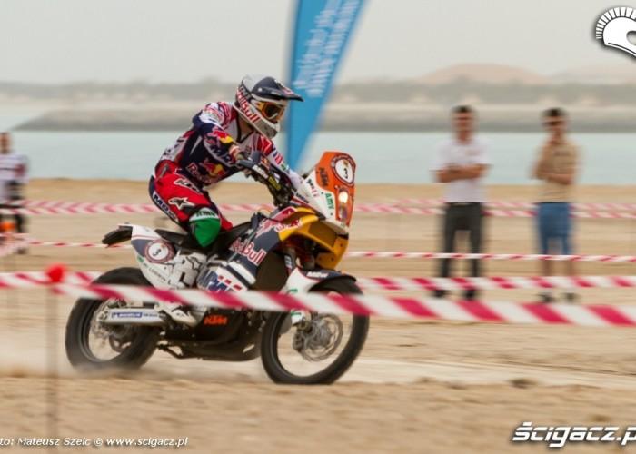 Rajdowka na Abu Dhabi Desert Challenge 2012