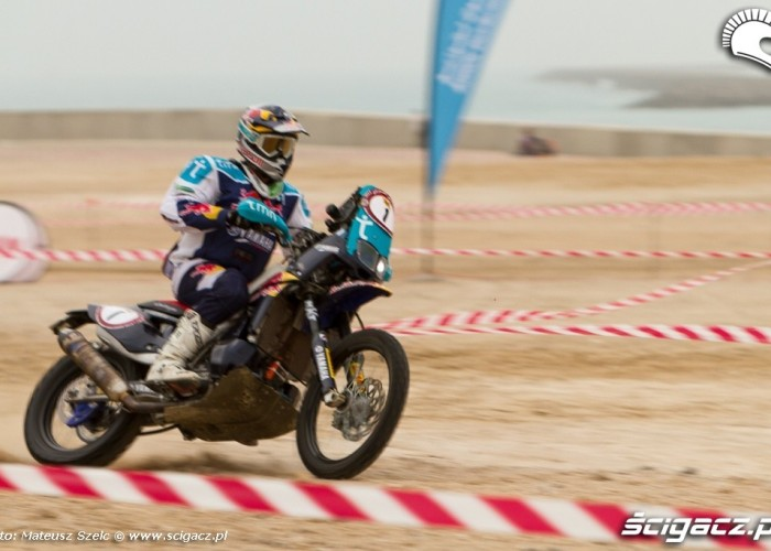 Yamaha Tenere Abu Dhabi Desert Challenge 2012