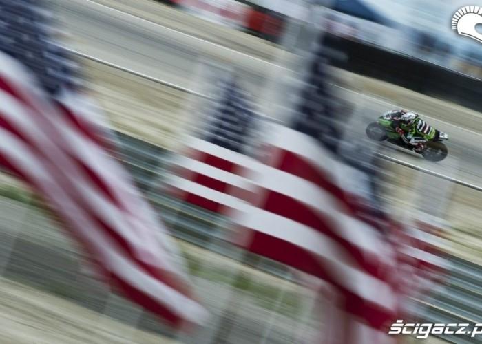 flaga usa Loris Baz Miller