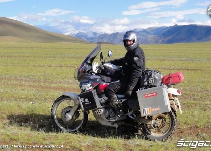 azja - polska na motocyklu