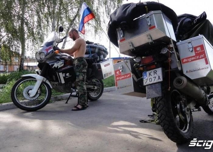 granica ukraina - rosja Wyprawa