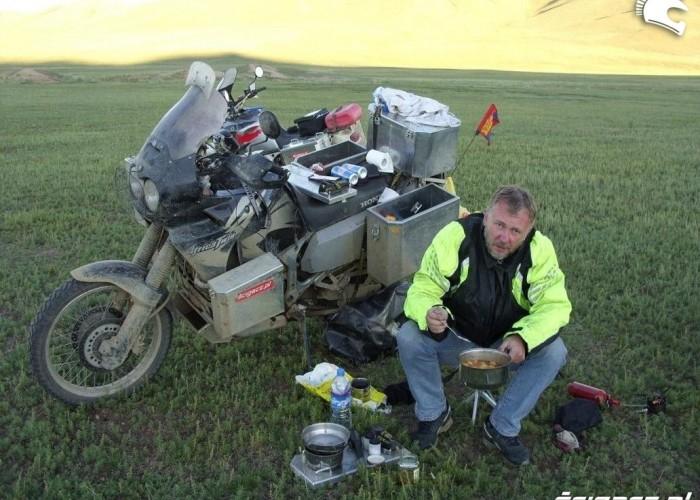 motocyklem z azji do polski