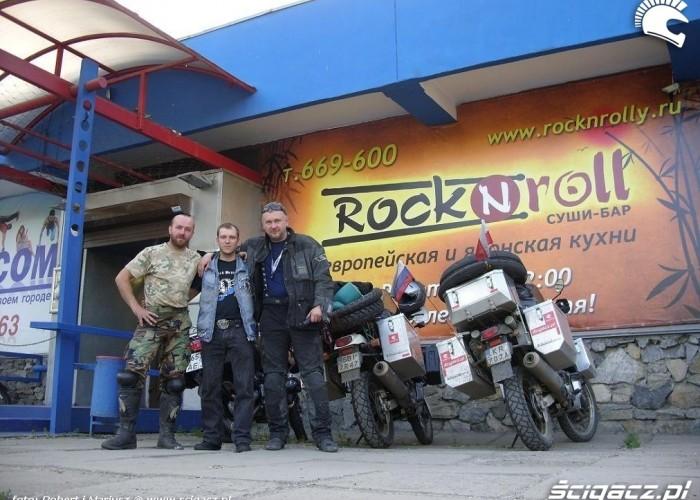 rock wyprawa motocyklem do Magadanu