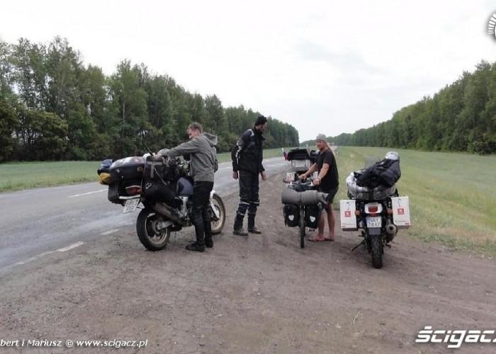 spotkanie Szweda na rowerze wyprawa motocyklem do Magadanu