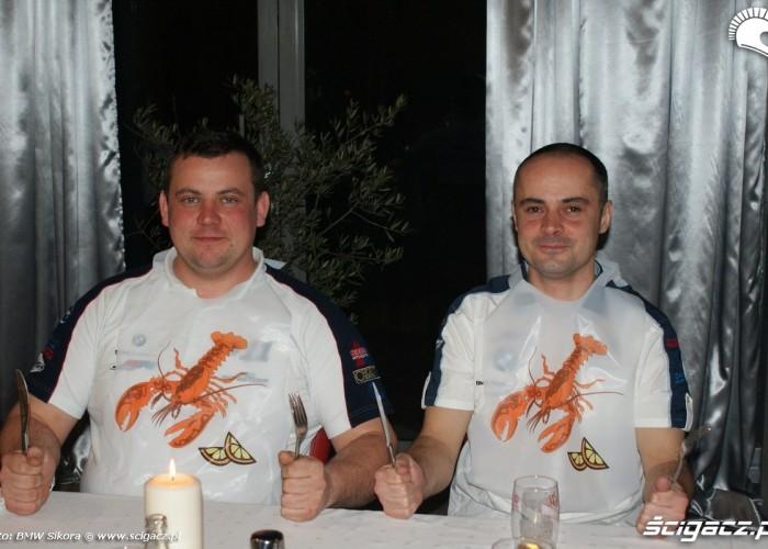 homary na klacie