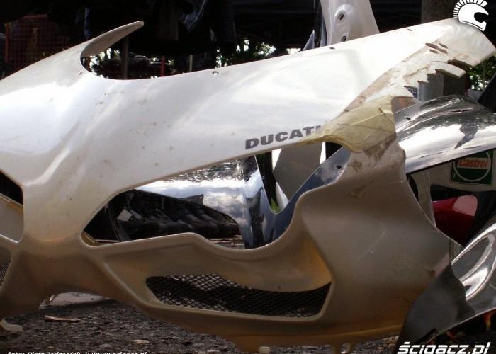 Ducati smutna owiewka Warszawski Bazar Motocyklowy 18-19 wrzesnia