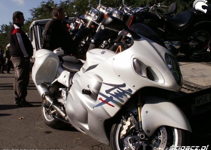 hayabusa z kuframi Warszawski Bazar Motocyklowy 18-19 wrzesnia