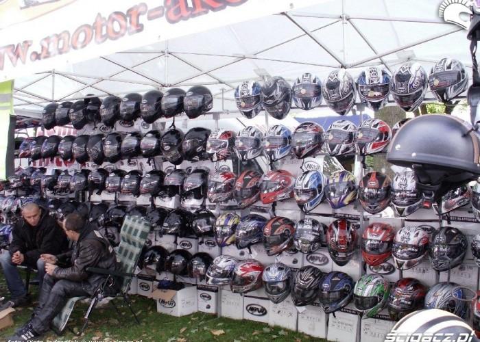 kaski na moto Mototarg Warszawa 18-19 wrzesnia