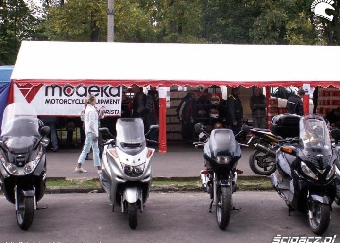 skutery i modeka motorista Motobazar w Warszawie 18-19 wrzesnia