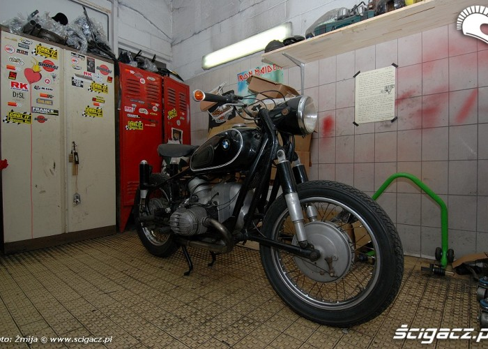 Motocykl przed rozbiorka