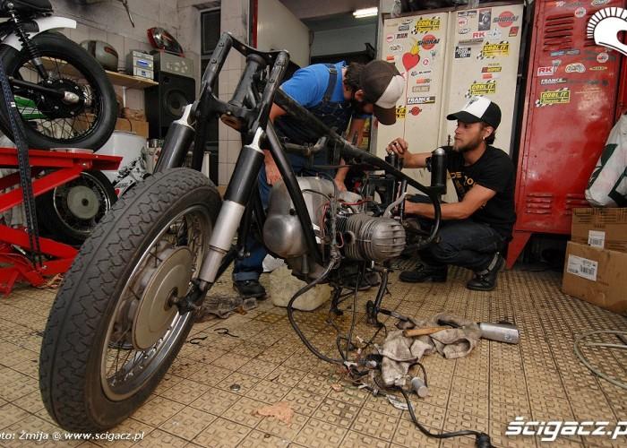 Renowacja motocykla
