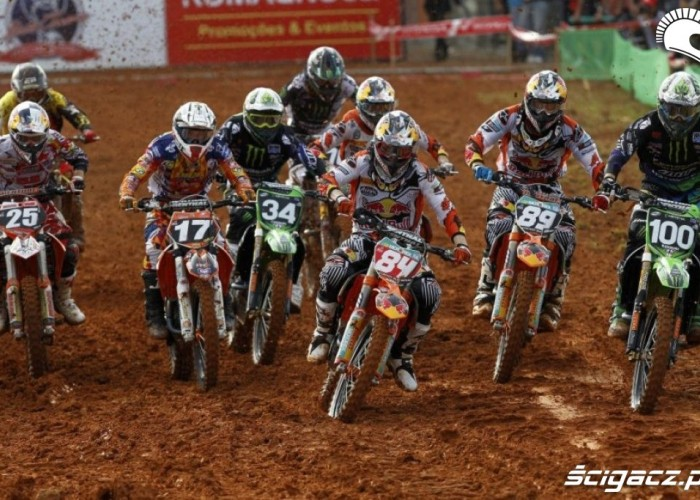 MX2 Mistrzostwa Swiata Motocross Brazylia 2012