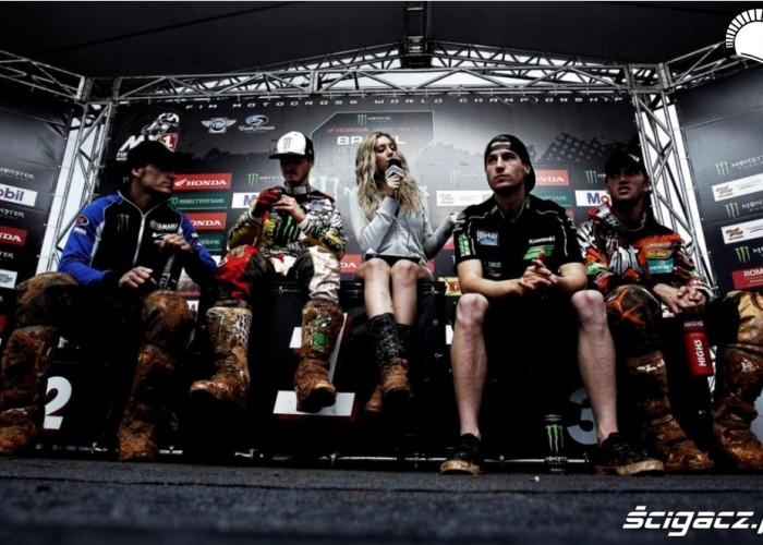 Mistrzostwa Swiata MX w Brazyli 2012 po wyscigu