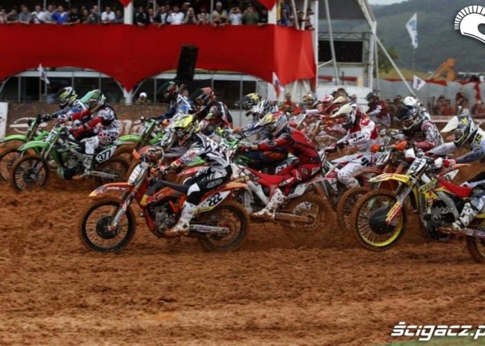 Mistrzostwa Swiata Motocross Brazylia 2012 start