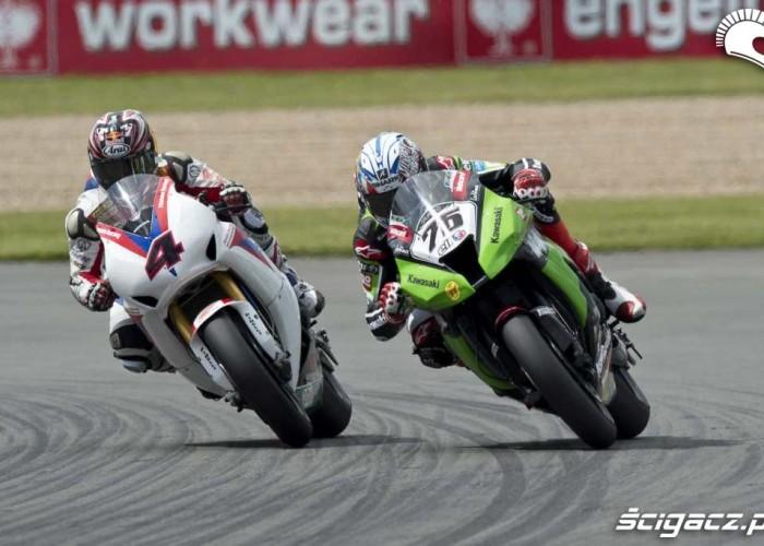 Kawasaki Honda Donington Park Superbike