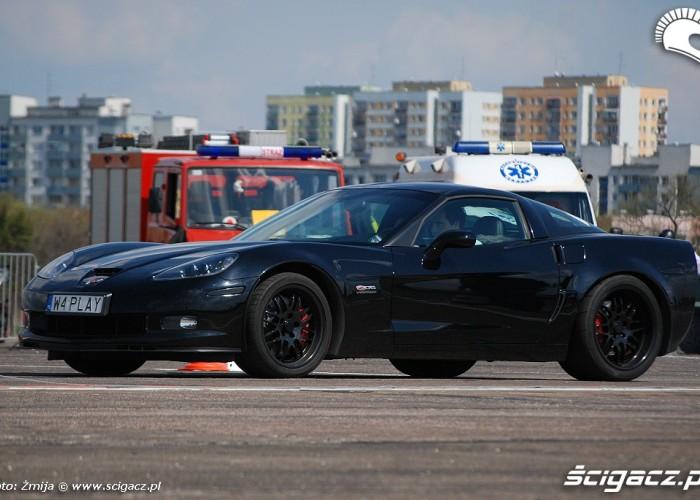 Czarna Corvette Bemowo