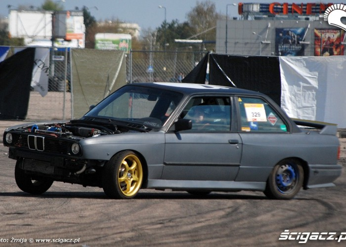 Drift BMW lotnisko